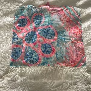 GUC Lilly Pulitzer caftan xs/s.